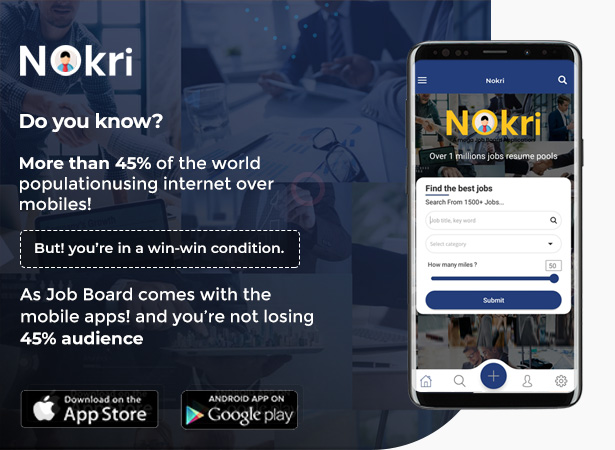 Nokri Native Apps